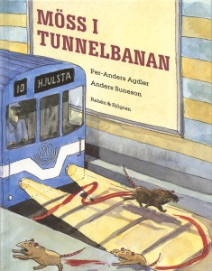 Möss i tunnelbanan ISBN 91-29-59897-4 Pris: 75 kr