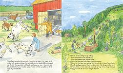 Uppslag s 18 - 19 ur bilderboken
